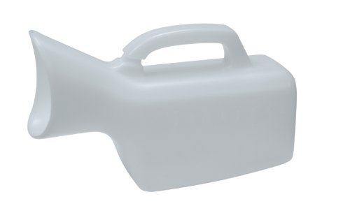 Drive Medical Female Urinal, White front-1070206