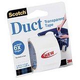 3M Vinyl Duct Tape, White, 2-Inch by 50-Yard, 6.3 Mil