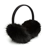M&S Collection Faux Fur Ear Muffs