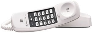 AT&T TRIMLINE CORDED PHONE WHT