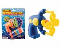 Turbo Bubble Blower Gun Endless Stream of Bubbles- assorted colors