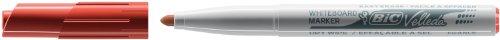VELLEDA Pochette de 4 Feutres tableau blanc effaçable à sec 1741 Pte Medium Ogive N/B/R/V
