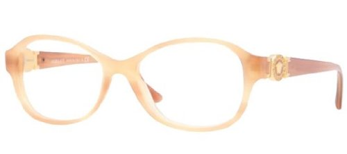 VersaceVersace VE3185 Eyeglasses-640 Striped Light Brown-52mm