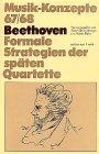 Beethoven. Formale Strategien der sp�...