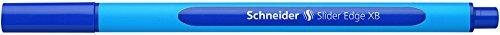 schneider-slider-edge-152203-stylo-bille-retractable-mine-xb-bleu-corps-bleu-lot-de-10