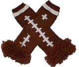CLEVELAND BROWN - Tutu Chiffon Ruffle Leg Warmers - AMERICAN FOOTBALL (TOUCH DOWN) - \