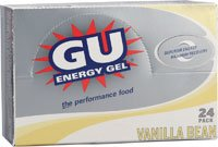 GU Energy Labs Energy Gel Vanilla Bean -- 24 Packets
