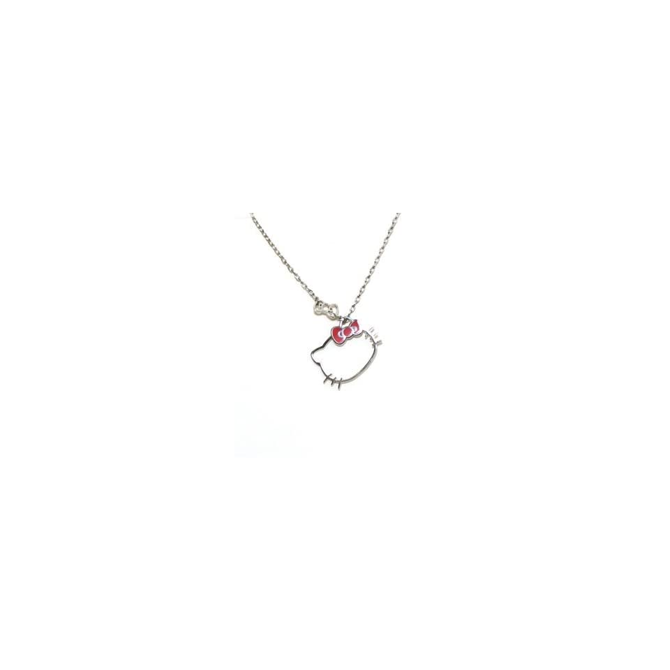 cde10de2d Hello Kitty Outline Necklace Jewelry on PopScreen