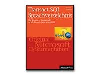 Transact-SQL Sprachverzeichnis - reference book - German
