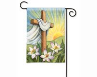 Easter Sunrise Garden Flag