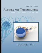 Algebra and Trigonometry with Analytic Geometry Instructor's Edition