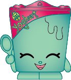2014 SHOPKINS FIGURES - GHURTY #076 - SEASON 1 RARE - 1