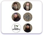 Duck Dynasty Edible Cupcake Toppers-12 Count
