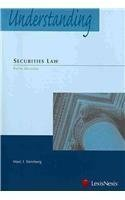 Understanding Securities Law 5th (fifth) Edition by Marc I. Steinberg [2009]
