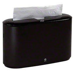 Zoom Supply SCA302028 Tork Paper Towel Holder, Elegant Classy Black Xpress Countertop Dispenser, Multifold Tork Towel Dispenser -- No More Disgusting Towel Baskets