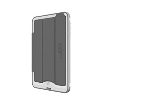 LifeProof 1433-01  NÜÜD Waterproof Portfolio Cover with Stand for iPad Mini 1/2/3 - Grey, Retail Packaging