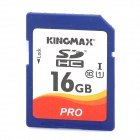 KINGMAX SDHC Pro High Speed Camera SDHC Memory Card – Blue + White + Orange (16GB / Class 10) B017FRJ11E