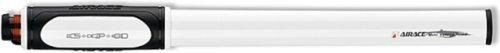 AirAce Veloce 100PSI CNC Aluminium Mini Pumpe mit Twin-Valve Kopf–Silber