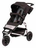 Mountain Buggy Swift Lightweight Baby Pushchair in Flint Grey & Black