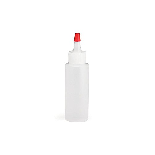 tablecraft-1104-natural-4-oz-squeeze-bottle-with-red-tip