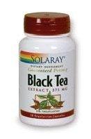 Solaray Black Tea Extract 375 mg 25% Theaflavins 30 Vegi Capsules
