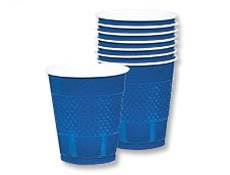 Blue 12oz. Plastic Cups 20 per pack