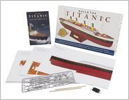 Build The Titanic Paper Model Kit