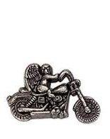 Guardian Angel Motor Cycle Pin