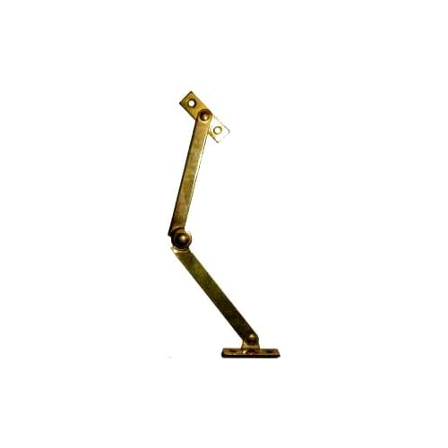 Right Hand Desk or Trunk Lid Stay - Brass - Cabinet And