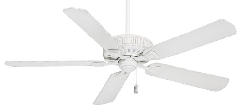 Casablanca 55000 Ainsworth 60-Inch 5-Blade Ceiling Fan, Cottage White with Cottage White Blades