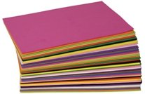 "5.5"" x 8.5"" Foam Sheets Assortment (Package of 40)"