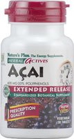 Nature's Plus, Herbal Actives, Acai, 600 Mg, 30 Tablets