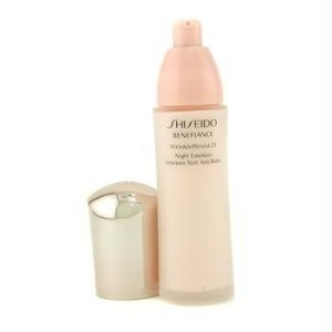 Shiseido Benefiance Wrinkle Resist 24 Night Emulsion for Unisex, 2.5 Ounce