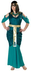 InCharacter Costumes Women's Egyptian Jewel Adult Plus Size, Turquoise/Gold, 3X