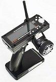 Remote controlled RadioControl FlySky FS-GT3B Digital 3ch 2.4ghz TX & RX LCD Transmitter & Receiver