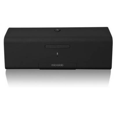 Microlab Md212 Bluetooth Wireless Portable Stereo Speaker W/ Hands-Free Speakerphone For Tablet, Smartphone And Notebook(Black)