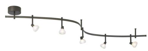 Tiella 5 Light Decorative Flexible Track Light