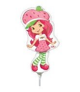 Wholesale 14 Inch Strawberry Shortcake Mini-Shaped Balloons