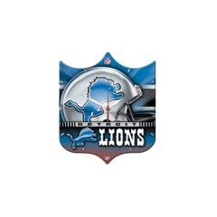New Detroit Lions Wall Clock - High Definition High Quality Quartz Movement by WinCraft