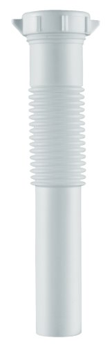 Plumb Craft 7681000N 1-1/4-Inch Flexible Tailpiece, White back-427470