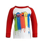 Pure Cotton Sesame Street T-Shirt