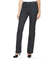 M&S Collection Sculpt & Lift Slim Bootleg Denim Jeans