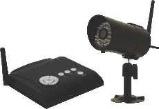 First Alert Indoor/Outdoor Digital Wireless Camera With Receiver