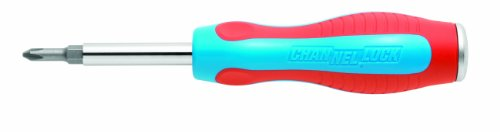 Channellock 61Cb 6N1 Screwdriver, Slotted 3/16 And 1/4, Phillips 1 And 2, Nut Driver 5/16 And 1/4