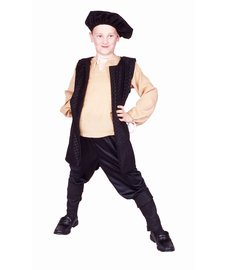 RG Costumes Renaissance Boy Costume, Brown/White, Small