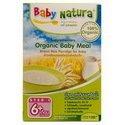 Baby Natura Organic Baby Meal Brown Rice Porridge 120G From Thailand