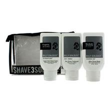 Billy Jealousy Shave3some: Hydroplane Super Slick Shave Cream 88Ml + Hot Towel Pre Shave Treatment 88Ml + Shaved Ice After Shave Balm 103Ml 3Pcs