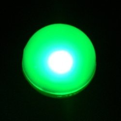 Lily'S Home Fairy Led Lights, Magical Led Light, Wedding Centerpiece Lights, Party Lights. Pack Of 10 (Green)