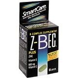 Z - Bec Tablets Plus Zinc Complete B-complex Supplement Tablets - 60 Tablets