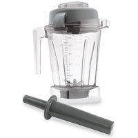 Vitamix Wet Blade Free Black 48 Oz Blender Container with Lid
